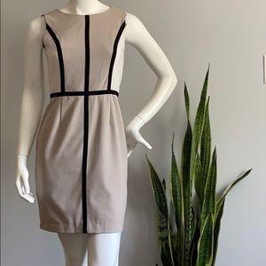 Calvin Klein Short Beige Dress
